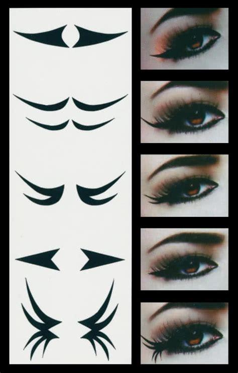 tattoo eyeliner flicks lidstrich augen tattoo classic style gothic lidstrich make