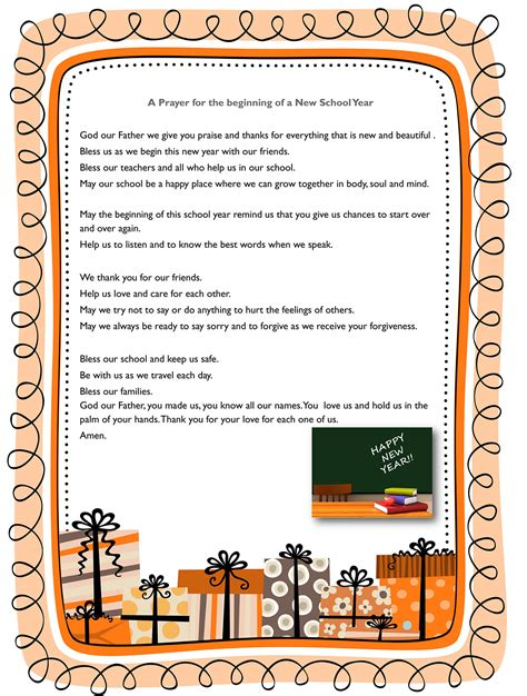 prayer for the new school year new school year ossory diocese