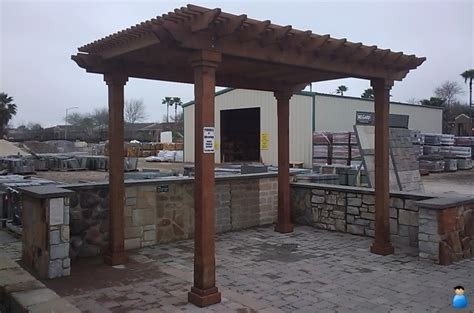 how to build a pergola on concrete pergolas houston
