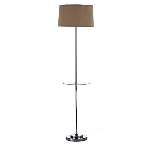 Jeeves Table L Jeeves Jee Floor L With Glass Table Polished Chrome With Shade Lights And Ls