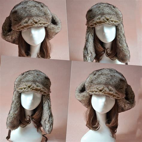 Luxe To Less Winter Hats Up 1 The Bag by Nwt Luxe Faux Fur Ski Snowboard Ear Flap Winter