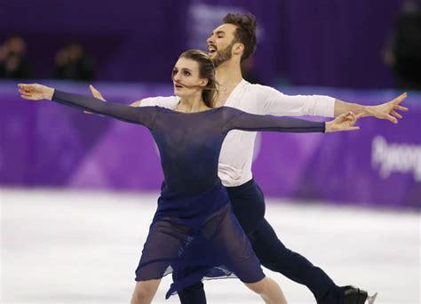 Wardrobe Malfunction At The Olympics - figure skating duo overcome nightmare wardrobe