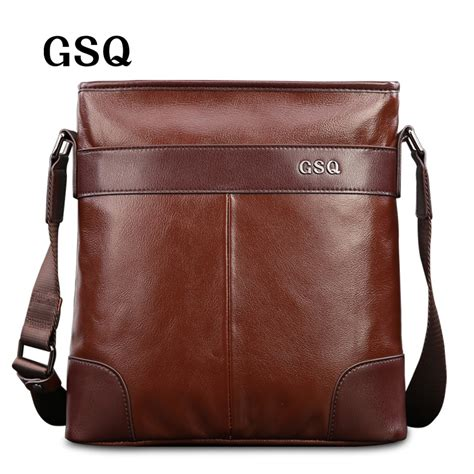 Leather Sales by Aliexpress Buy Gsq Fashion Genuine Leather Bag