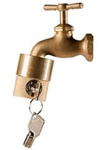 Water Faucet Lock Home Depot by Hosebibb Faucet Locks Help Prevent Water Theft Melnor 4