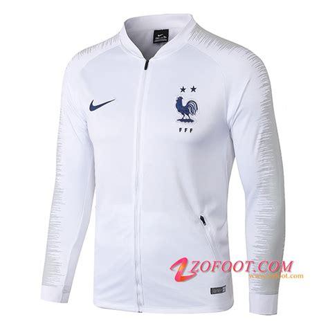 site fiable nouveau veste foot france  etoiles blanc