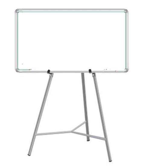 Standing Easel 3 In 1 Best Price nechams combo of white board magnetic 4 ft x 3 with easel