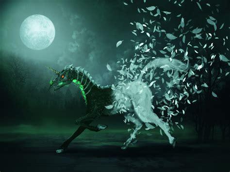 dark unicorn wallpaper dark unicorn by vandervals on deviantart