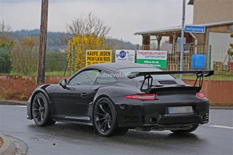 porsche gt3 engine 2018 porsche 911 gt3 rs spied has 4 2l engine 911 r like