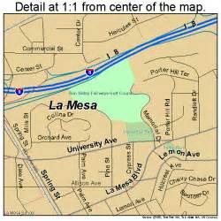 la mesa california map la mesa california map 0640004