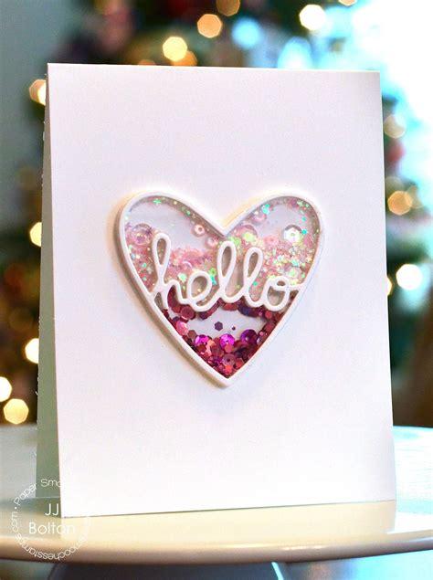 jj bolton handmade cards trio  paper smooches cards  farewell