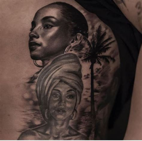 tattoo lyrics sade drake gets another tattoo of sade adu s portrait on his