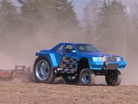 mercedes sls roadster  vecchia brabus bullit scooby doo van wrx wagon radio  djs