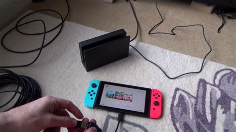 how to connect the nintendo switch tablet directly to a