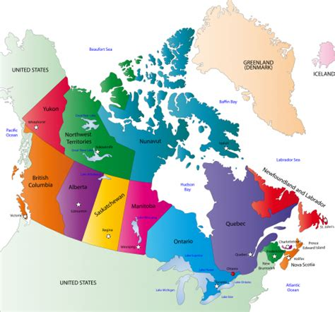 map of canada to color geography map of canada kidspressmagazine