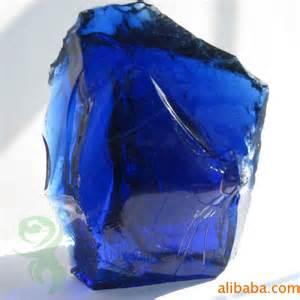 blue colored rocks natural clear colored cobalt blue slag glass jpg