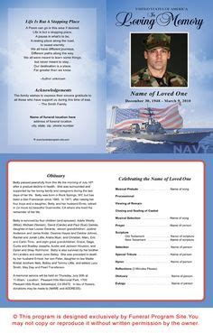 Obituary Instructions And Exle Text Mom Pinterest Texts Funeral And Funeral Ideas Free Patriotic Funeral Program Template
