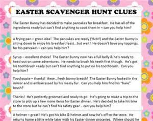 Easter Scavenger Hunt by Hunt Or Be Hunted Etsy