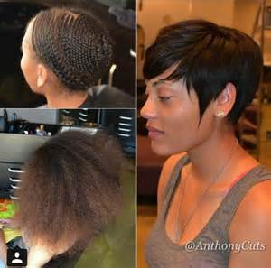 hair weave for pixie cut anthony elliot aka anthonycuts virginia voice of hair