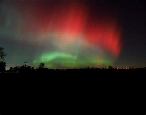 Northern Lights In Michigan by Northern Lights May Be Visible In Michigan Tonight