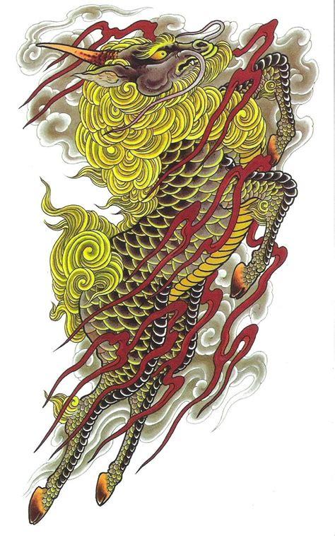 japanese tattoo kirin kirin tattoo buscar con google kirin pinterest