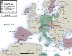 Map Of Europe Before Ww2 by Maps Map Of Europe Before World War Ii
