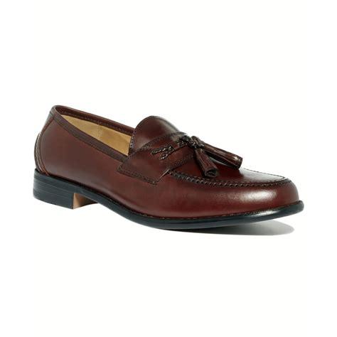 docker loafers dockers lyon tassel loafers in beige for mahogony lyst