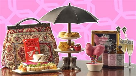 mary poppins afternoon tea lets  dine   iconic
