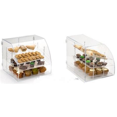 Countertop Food Display by 13032 Display Acrylic Countertop Food W Curved