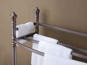 free standing towel racks for bathroom stroovi