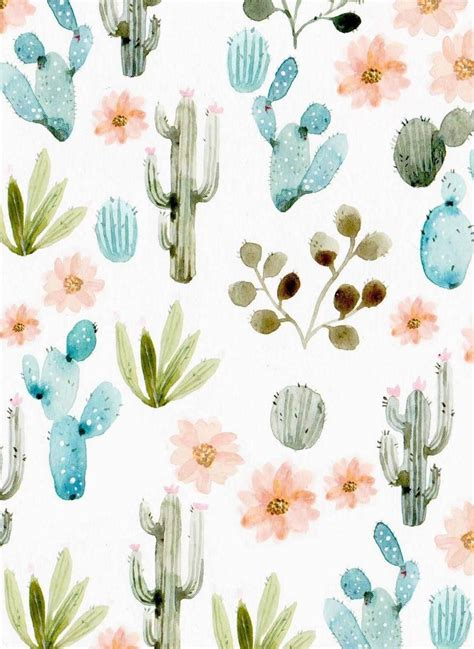 wallpaper craft pinterest free watercolor clip art daisies cacti watercolor and