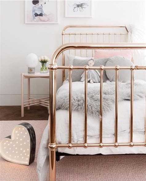 rose gold bed go for rose gold incy interiors