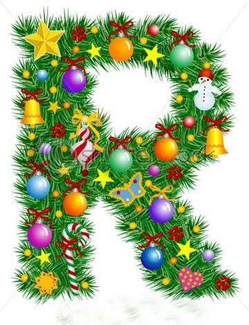 moldes letras de navidad