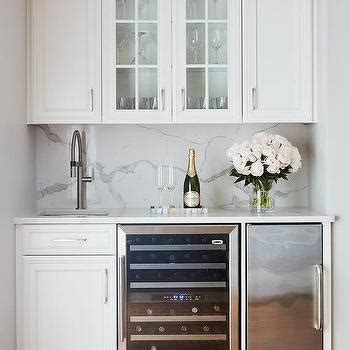 Stainless Steel Wet Bar Navy Wet Bar Cabinets With Wood Countertops And Stainless