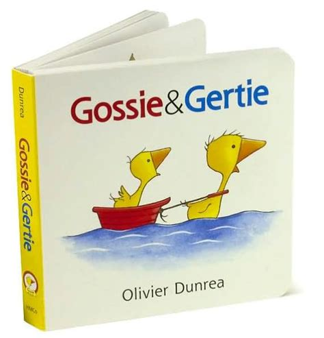 libro gossie padded board book gossie and gertie by olivier dunrea board book barnes