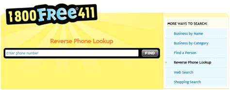 Yellow Pages 411 Lookup Top 5 Tools To Find Out Who A Phone Number Belongs To Us