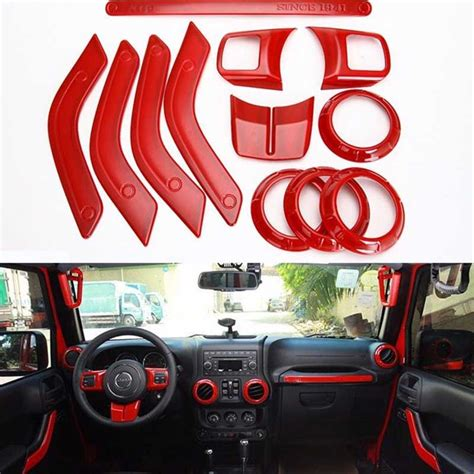 1set interior accessories decoration cover for jeep