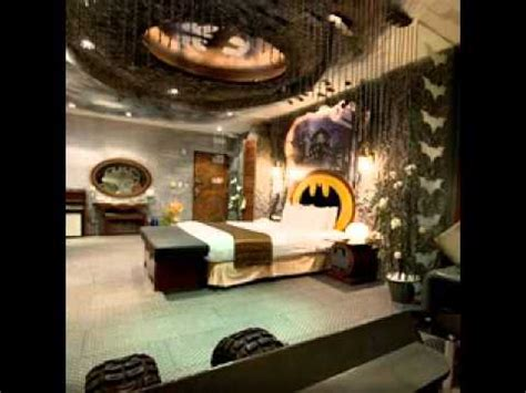 batman room decor batman bedroom design decorating ideas youtube