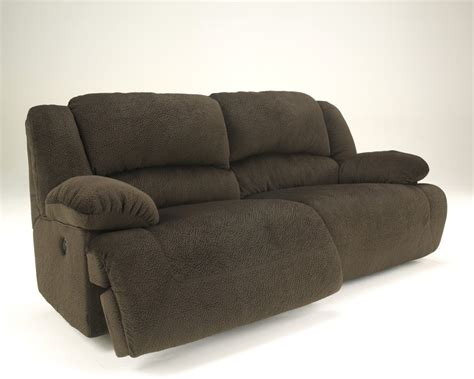 Sectional Reclining Sofas Toletta Chocolate 2 Seat Reclining Sofa 5670181 Reclining Sofas Price Busters Furniture