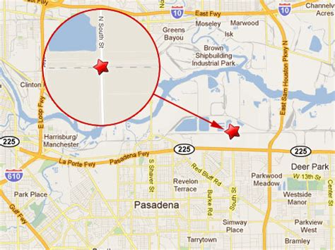 pasadena texas map driver collides with in pasadena texas fela lawyer news