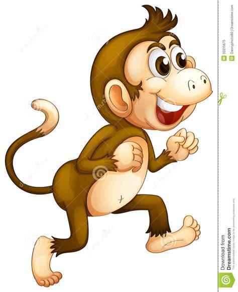 A monkey running royalty free stock photo image 33315675