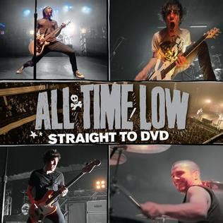 all time low therapy live from to dvd to dvd album