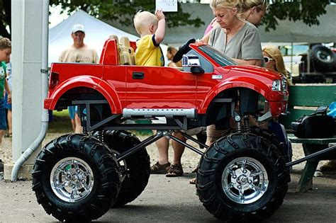 lifted jeep power wheels power wheels wagon custom child creations pinterest