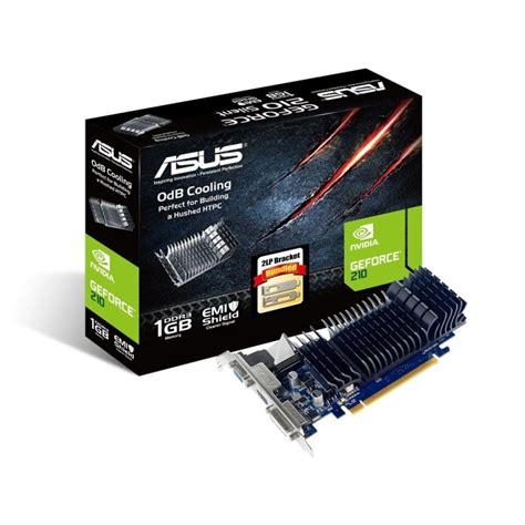 Vga Card Nvidia Pci Express asus geforce g210 1gb ddr3 vga dvi hdmi pci e low profile graphics card ebuyer