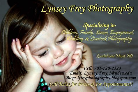 Photo Ad Lynsey Frey Photography Photography Ads