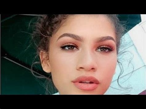 makeup tutorial zendaya zendaya makeup tutorial youtube