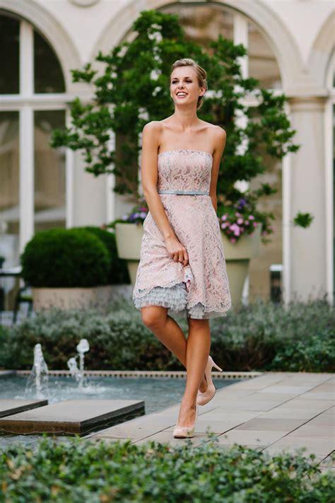 Hochzeitskleid Kurz Rosa by K 252 Ss Die Braut Brautmode 2016 Friedatheres
