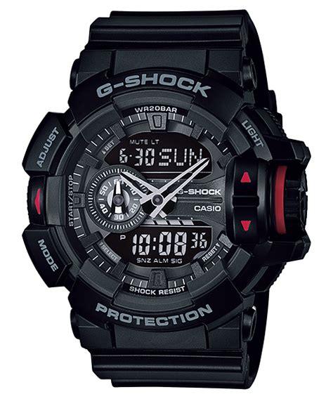 Casio Ga 400 1b ga 400 1b 標準指針數位雙重顯示手錶 g shock 手錶 casio