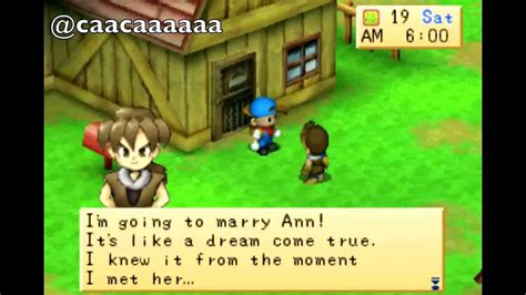 Bibit Harvest Moon Back To Nature harvest moon back to nature rival marriage