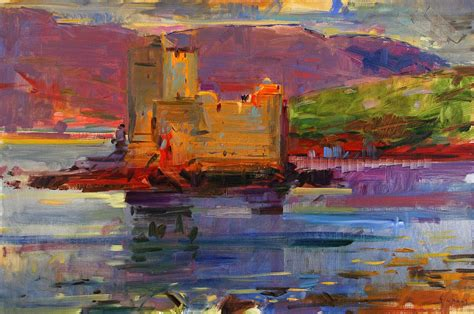 House Plans For Sale Online kisimul castle and vatersay painting by peter graham