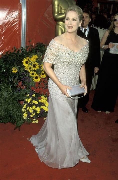 The Oscars Gowns That Wow Ed Bglam by Style Evolution Meryl Streep Via Mydaily The 71st